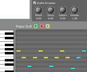 Silverlight Synthesizer Screenshot